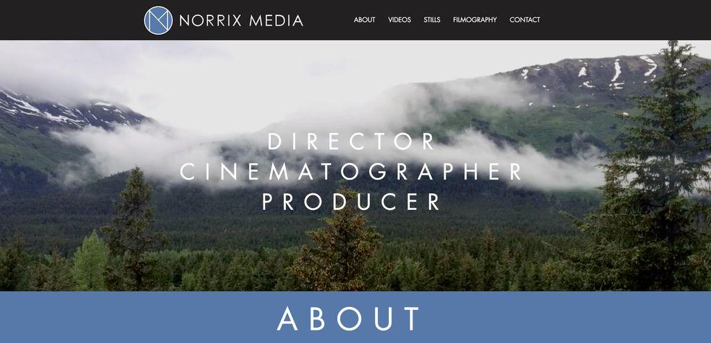 Norrix Media - Video Website