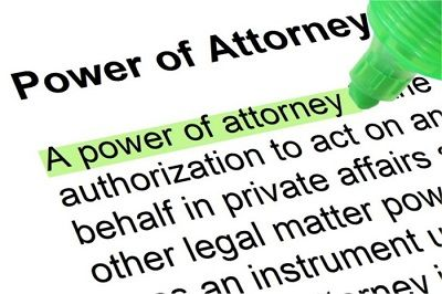 Power of Attorney Legal Document Preparer