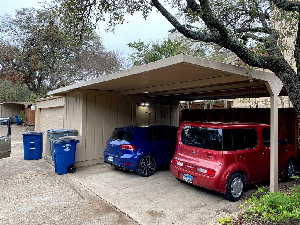 Carport to Garage Conversion - Dallas 2020