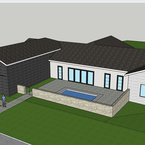 3D job of plan from client