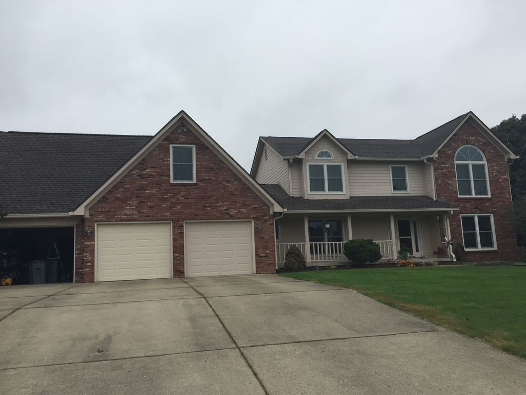 Indianapolis Exterior Painting Project with Carpentry Repairs