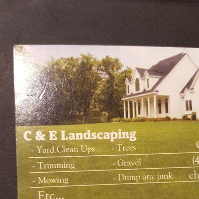 Avatar for C&E Landscaping
