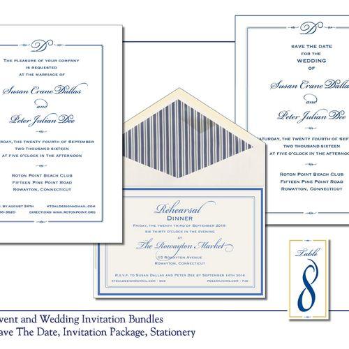 Wedding Invitation Bundles