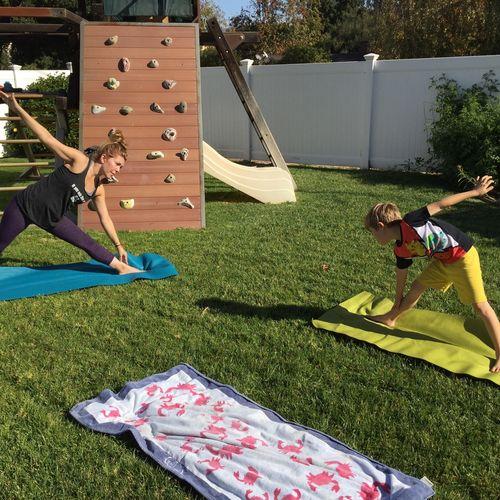 Yoga for the kiddos!