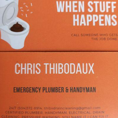 Avatar for Thibodaux's Handyman & Plumbing Services Metairie, LA Thumbtack