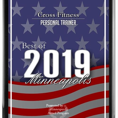 Awarded top trainer in 2019, 2018, and 2015.