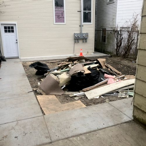 Post Contractor cleanout