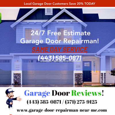 Free Estimate Garage Door Repair District Heights Md Page 2