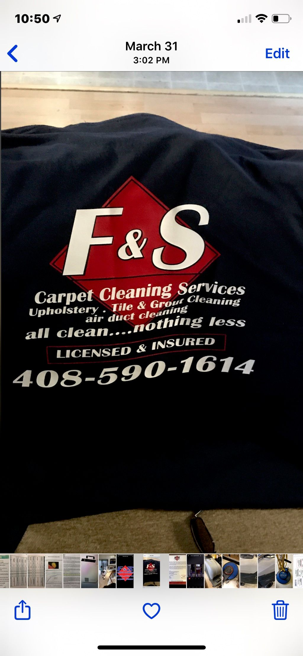 F&S Carpet Cleaning Services