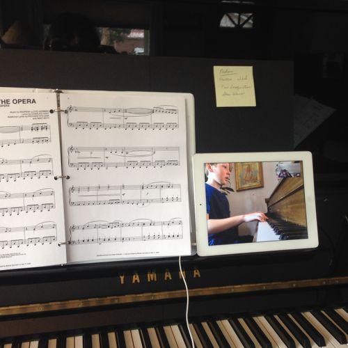 Newest gig - online teaching!