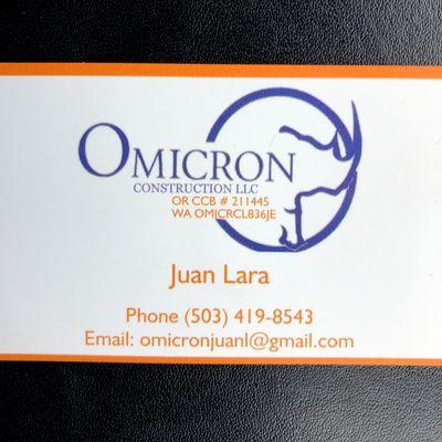 Avatar for OMICRON CONSTRUCTION LLC