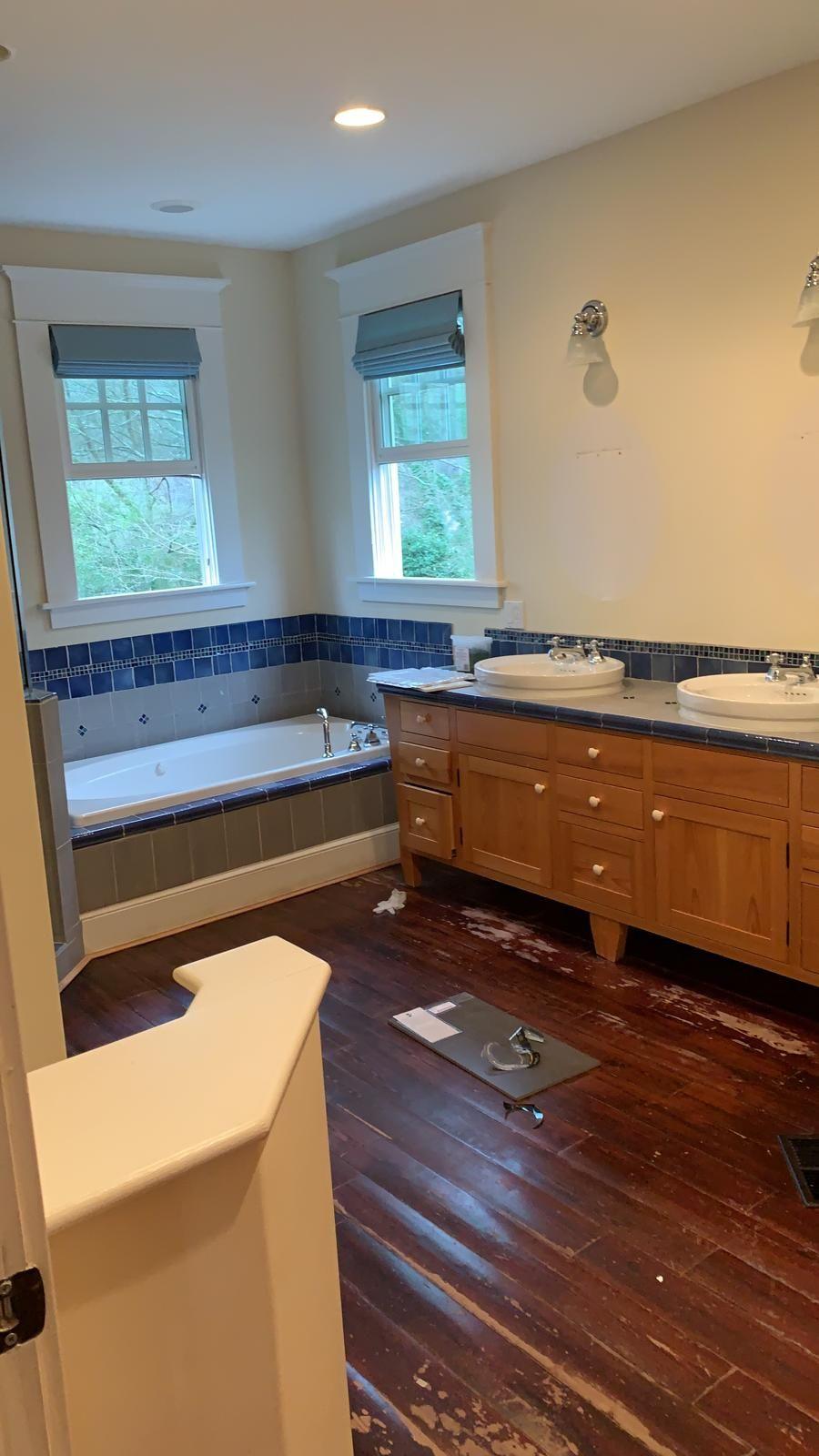 Master bathroom Marble remodeling