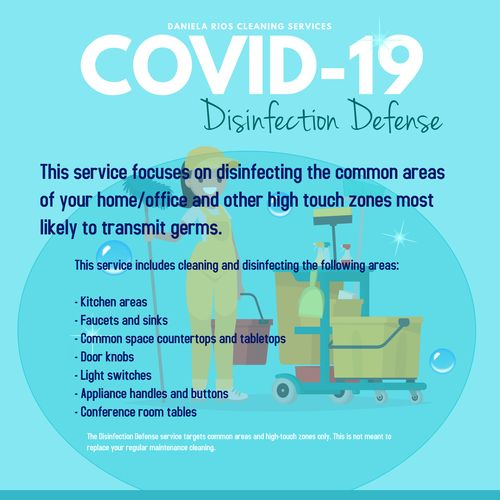 Emergency COVID-19 Disinfection Program for Home and Office
