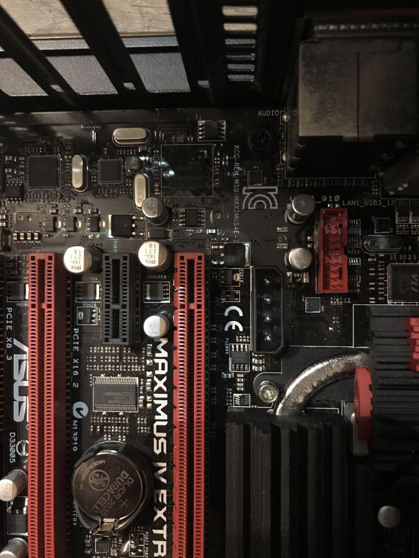Maximus IV Extreme-Z  Gaming PC not turning on