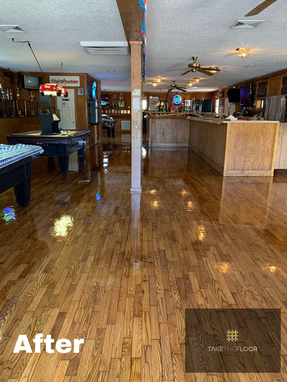 Hardwood Floor Refinishing