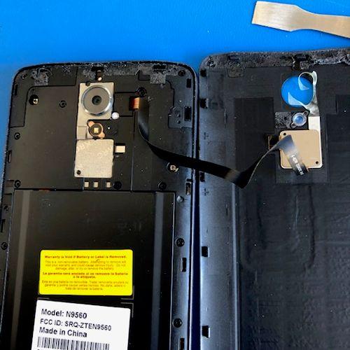 ZTE Moodel N9560 Cracked Screen