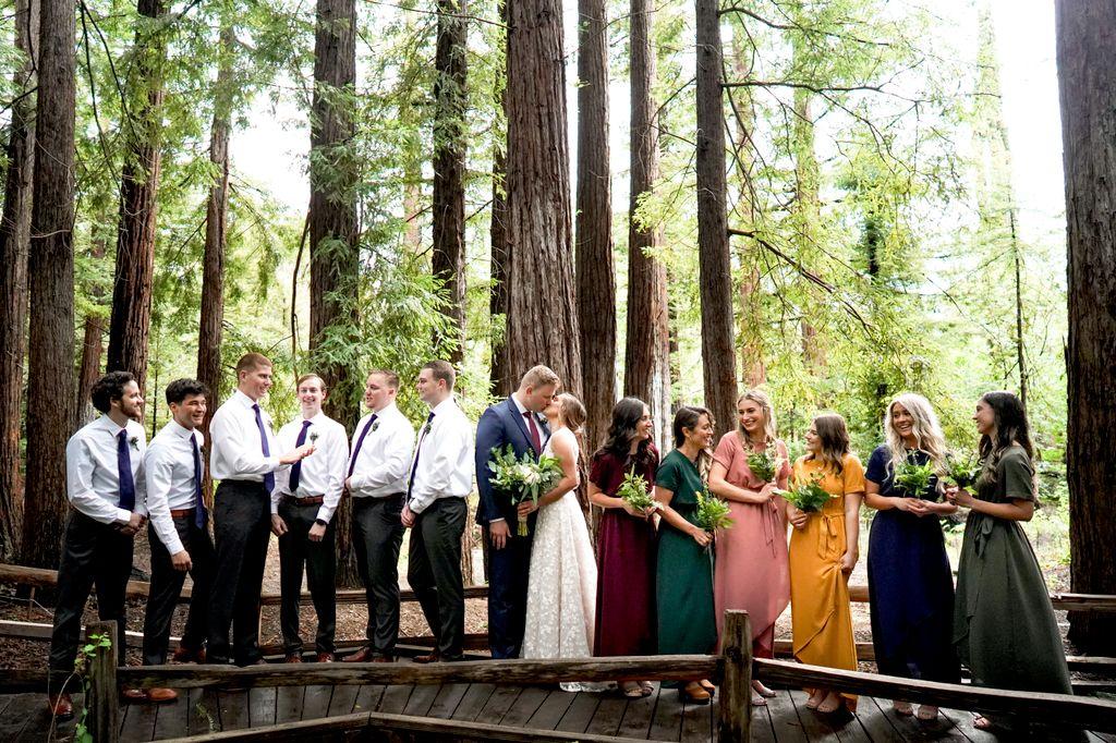 California March Wedding