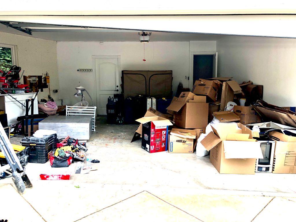 Garage Structure Reorganization