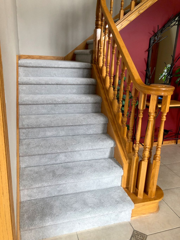 Upstairs Carpeting