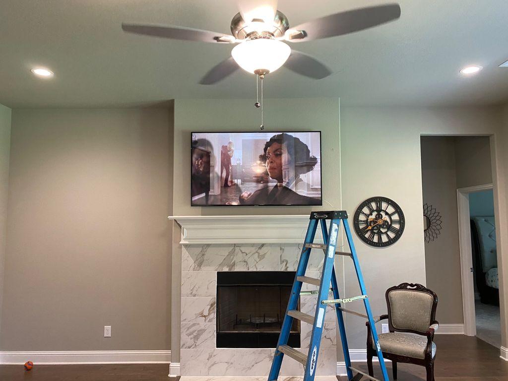 TV Mounting - Waxahachie 2020