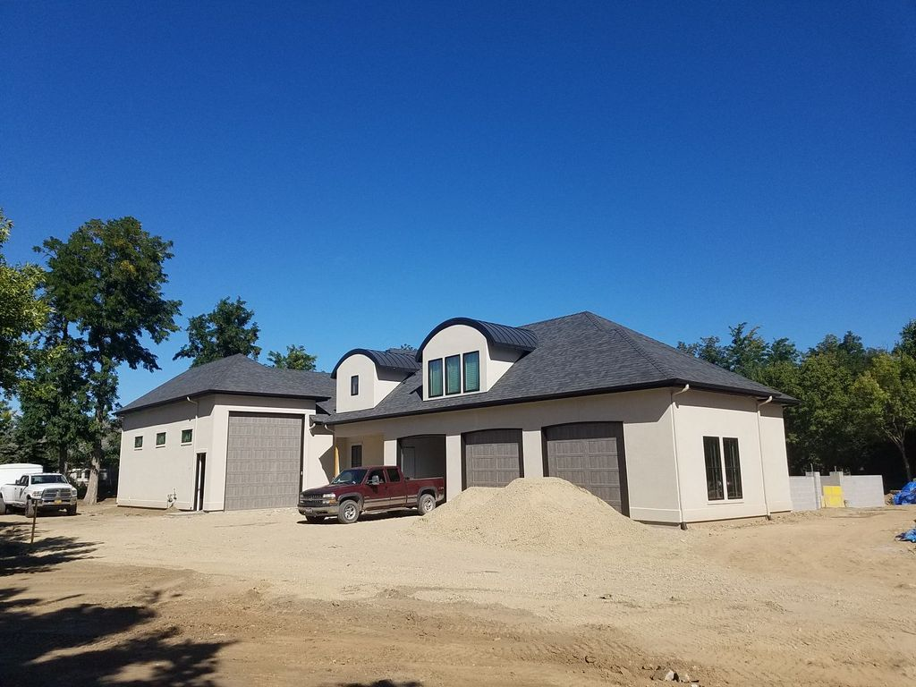 New construction roof install