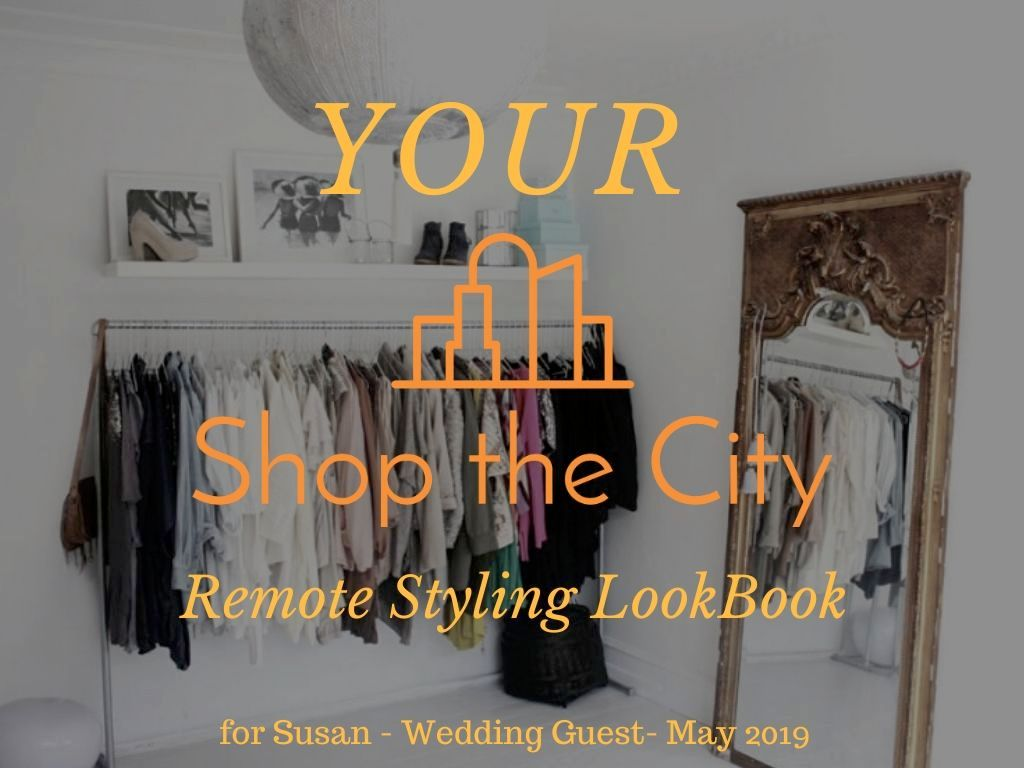Wedding Guest Dress Accessory Styling - Remote