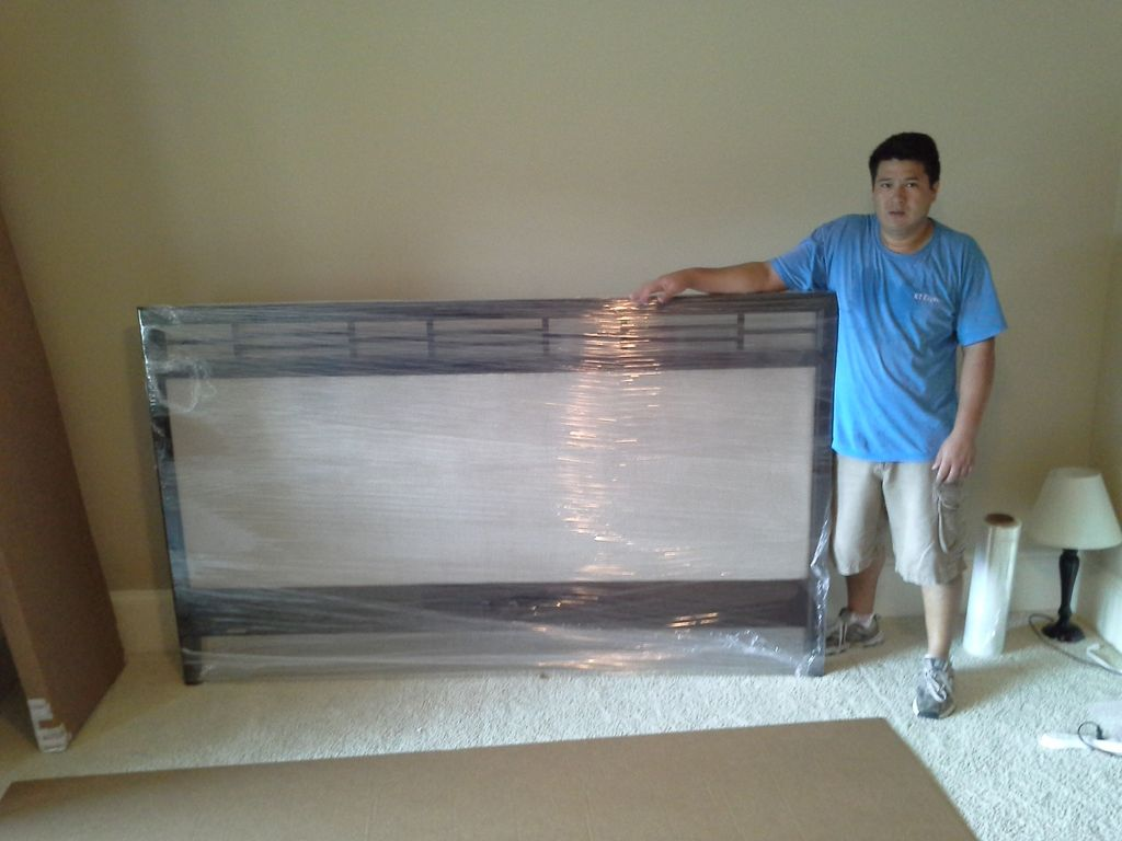Packing a bed frame