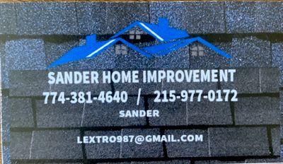 Avatar for Sander home improvement Brockton, MA Thumbtack