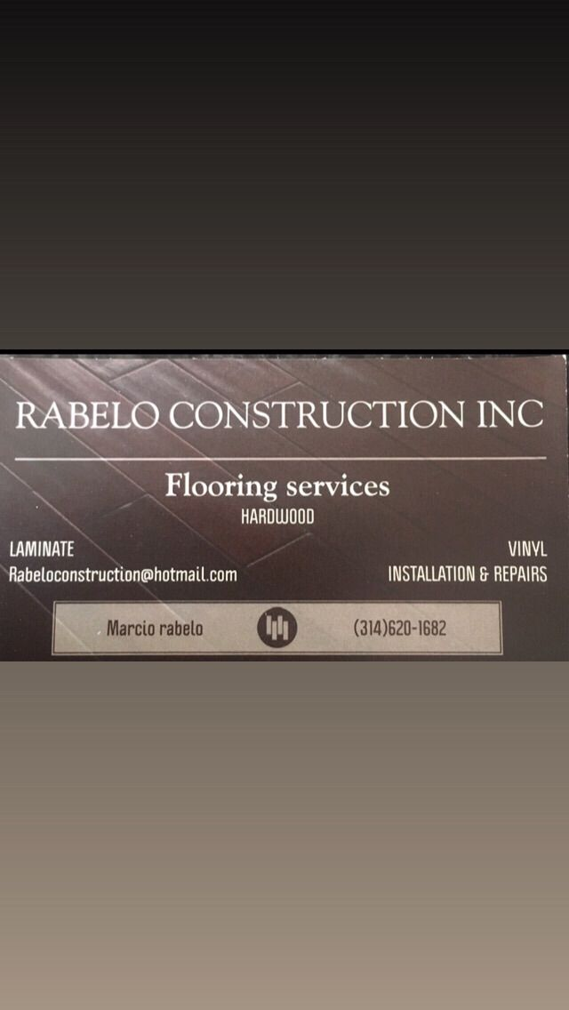 Rabelo construction inc       (flooring services)