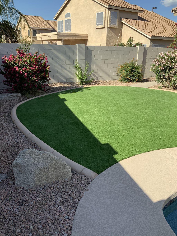 Curbing, Turf, and irrigation,