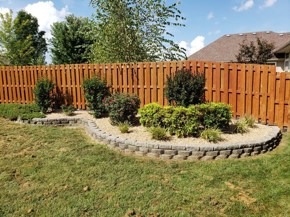 Shrub trim and clean up