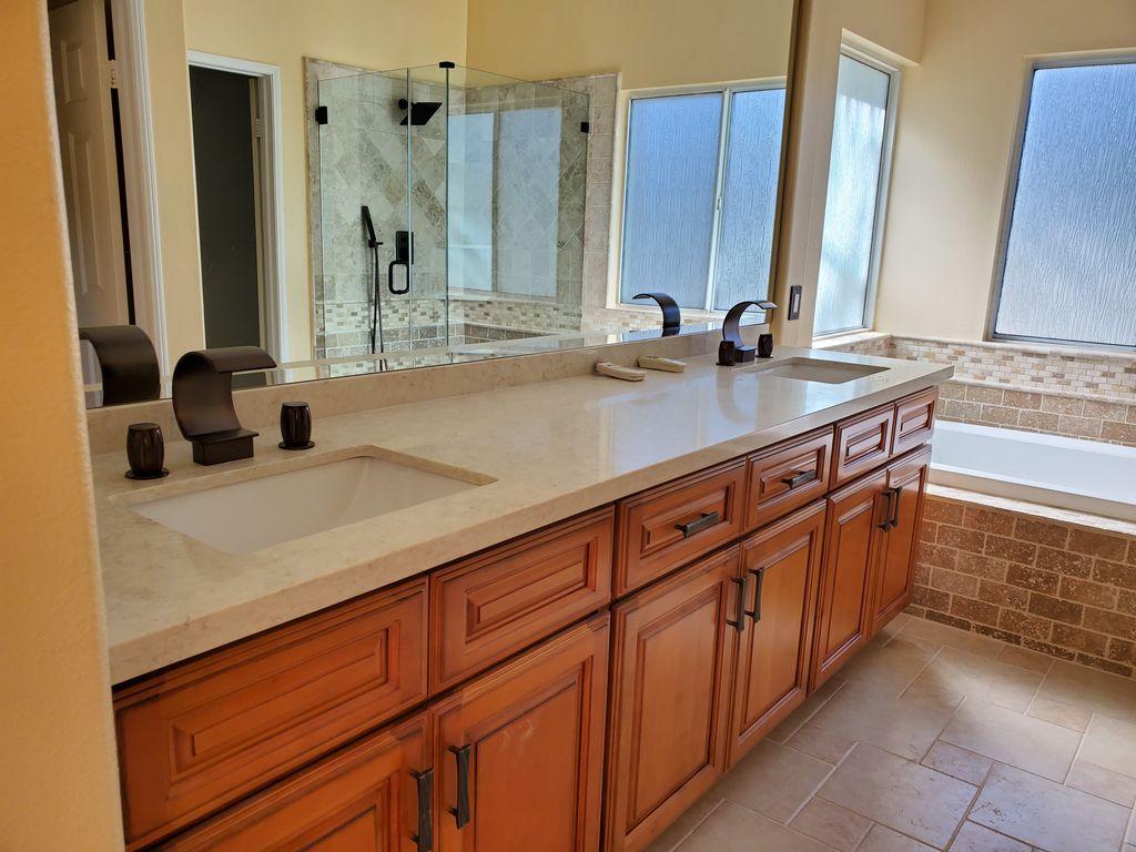 Bathroom tiling and remodel