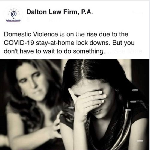 Call to get help with a domestic violence matter.