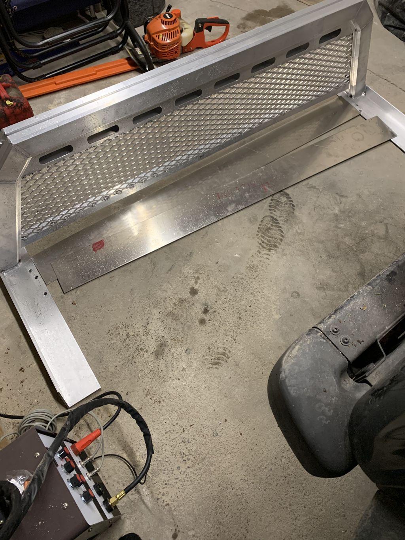 Custom Aluminum Backrack Modification