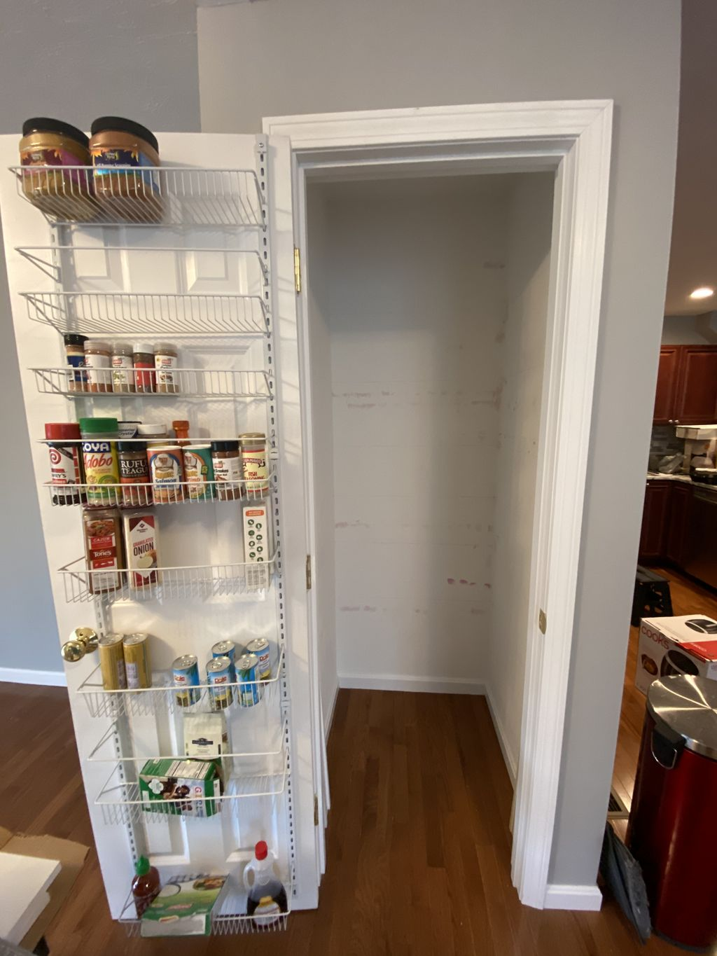 Custom Pantry Storage & Organization Install