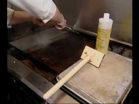 Flat Top Grill Cleaning