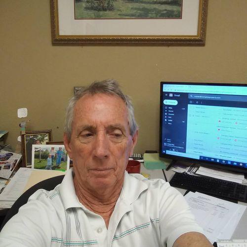 At my Desk Selfie