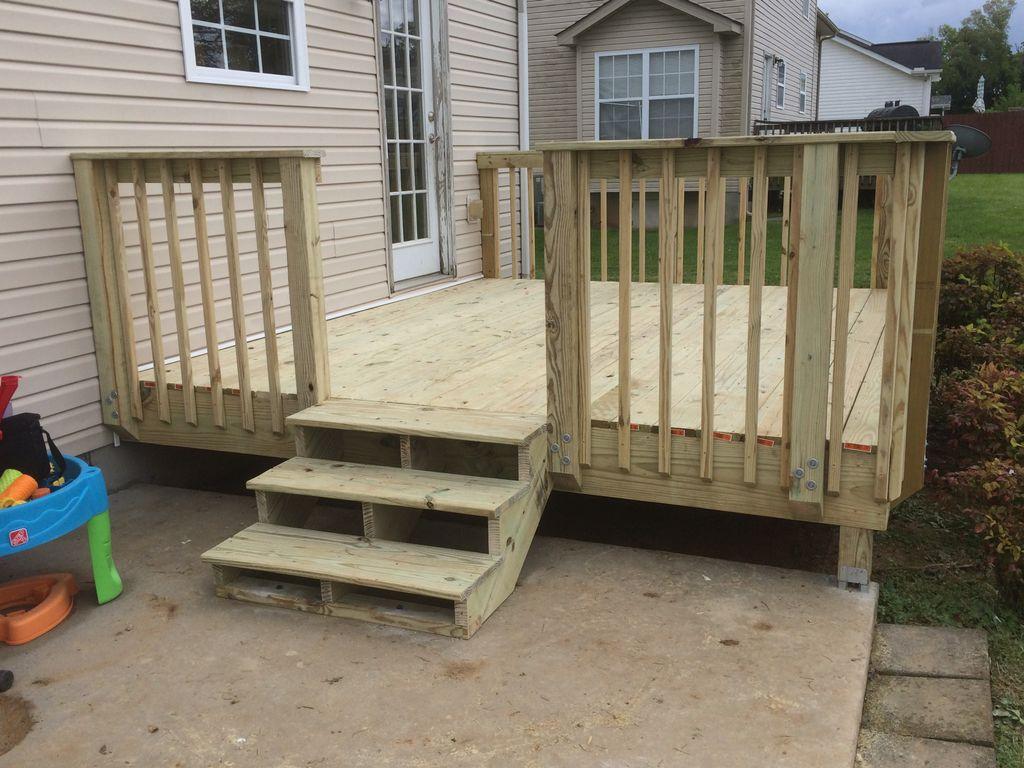 Deck built