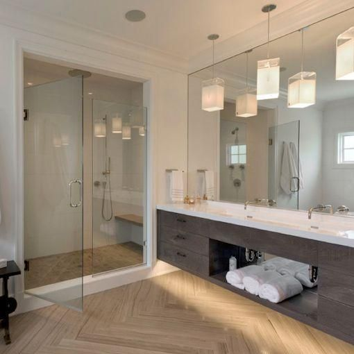 Shower Glass Door & Mirror