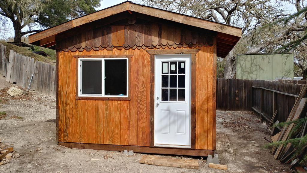Custome storage shed or studio