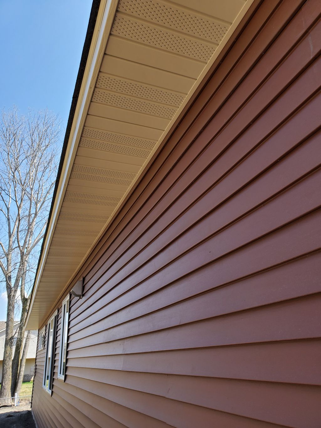 Vinyl Siding-Soffit and Fascia