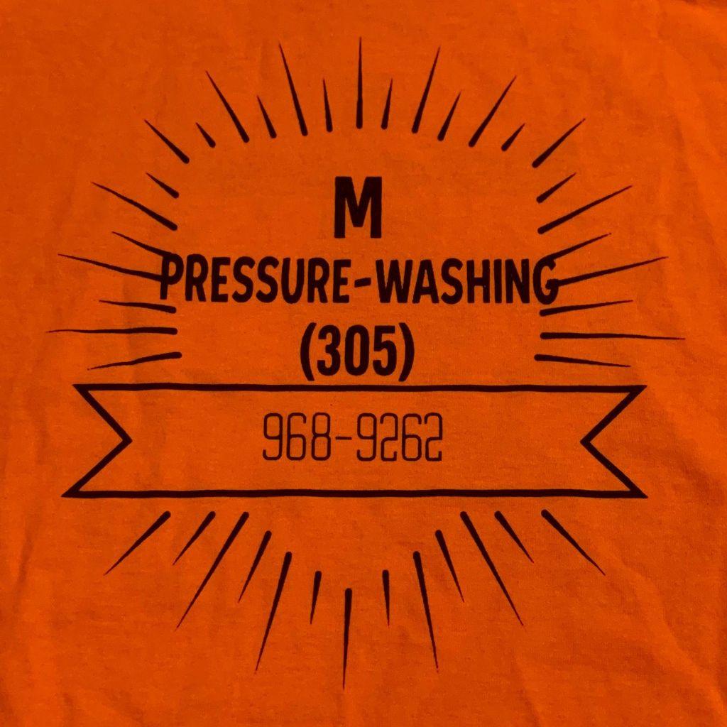 M Pressure Washing