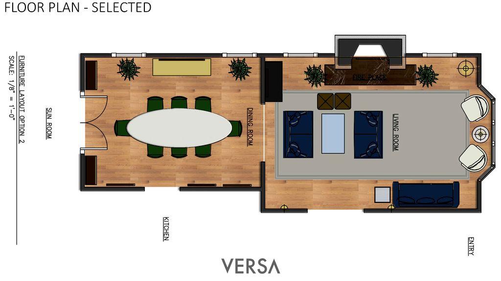 Interior Design - Detroit 2020