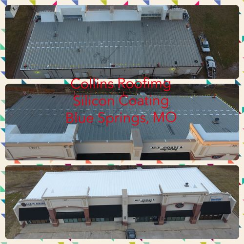 Silicon Roof Coating