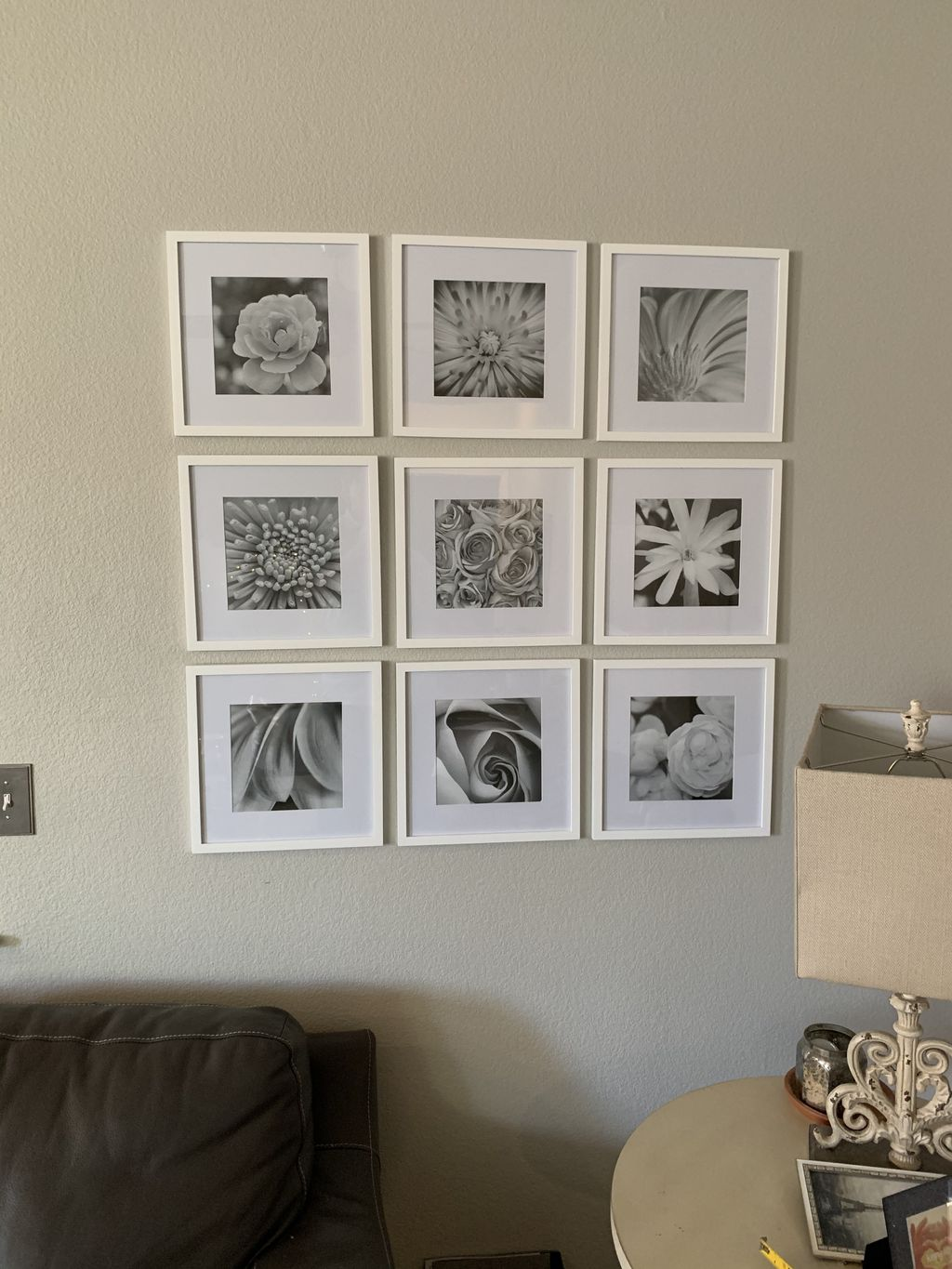 9 Picture hanging