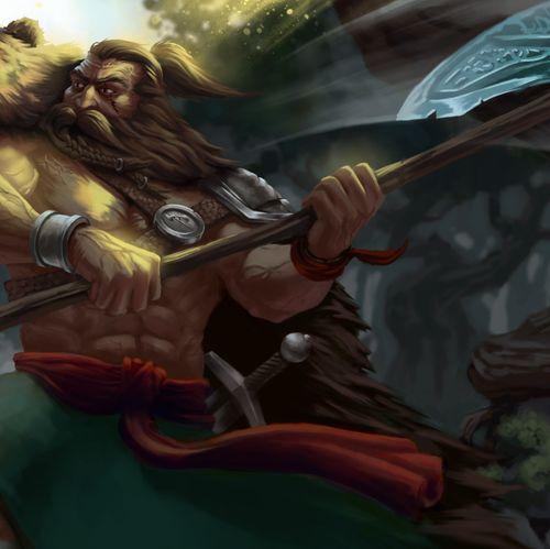 Custom fantasy scene art