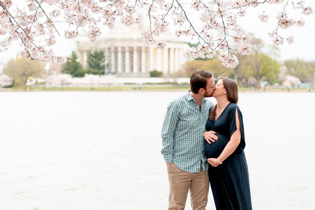Maternity Cherry Blossom Session