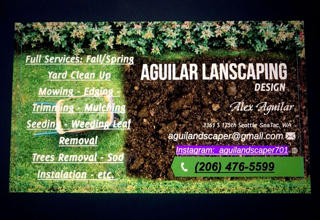 Aguilar Landscaping Design, Tree Service