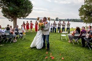 Wedding - On the water