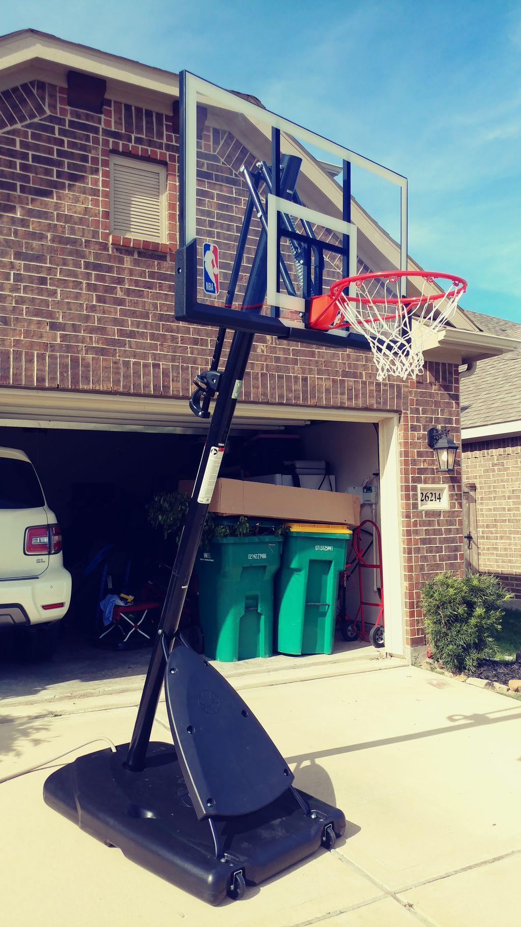 Portable Basketball Assembly